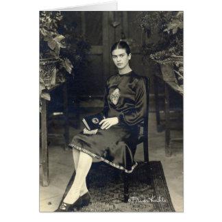 Frida Kahlo Seated Card
