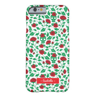 Frida Kahlo | Skulls & Roses Barely There iPhone 6 Case