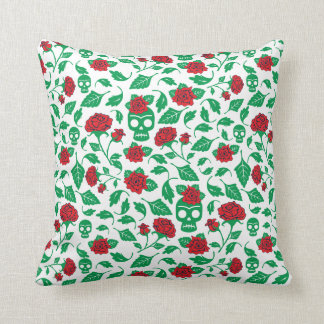 Frida Kahlo | Skulls & Roses Cushion