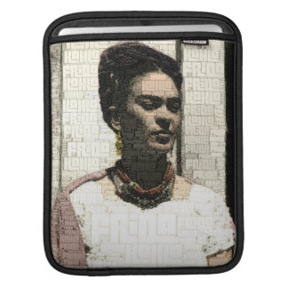 Frida Kahlo Textile Portrait iPad Sleeve