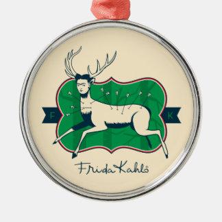 Frida Kahlo | The Wounded Deer Christmas Ornament