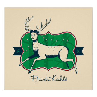 Frida Kahlo | The Wounded Deer Poster