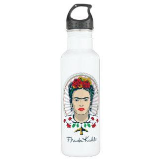 Frida Kahlo | Vintage Floral 710 Ml Water Bottle