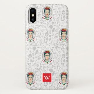 Frida Kahlo | Vintage Floral iPhone X Case
