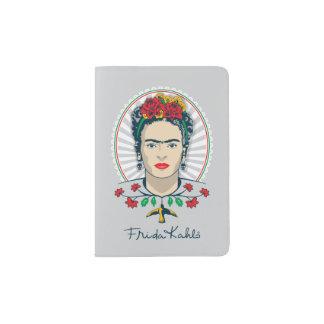 Frida Kahlo | Vintage Floral Passport Holder