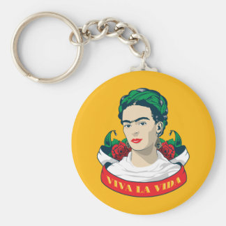 Frida Kahlo | Viva la Vida Key Ring