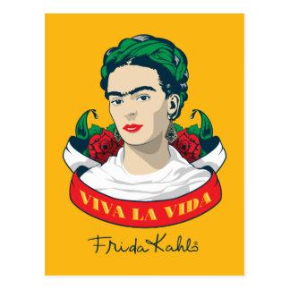 Frida Kahlo | Viva la Vida Postcard