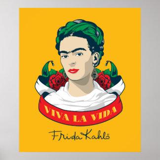 Frida Kahlo | Viva la Vida Poster