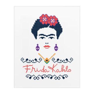 Frida Kahlo | Viva Mexico Acrylic Print