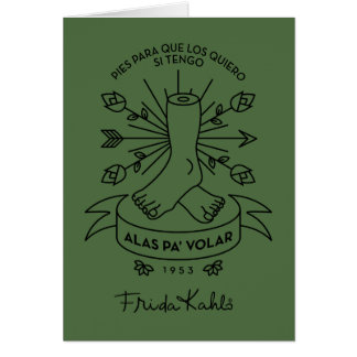 Frida Kahlo | Wings to Fly Card