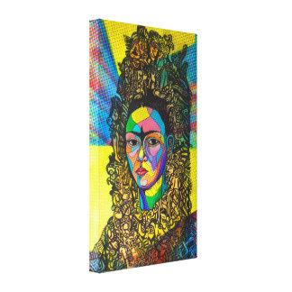 Frida:  Mayan Princess. Canvas Print