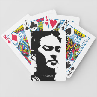 Frida Shadow Portrait Bicycle Playing Cards