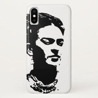 Frida Shadow Portrait iPhone X Case