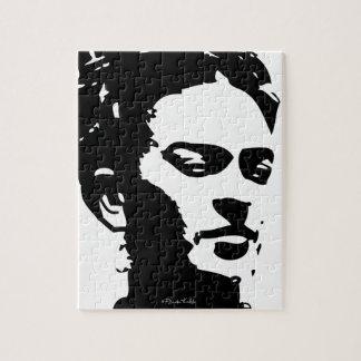Frida Shadow Portrait Jigsaw Puzzle