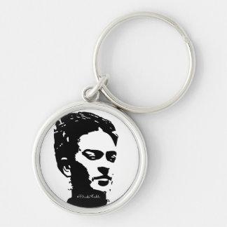 Frida Shadow Portrait Key Ring