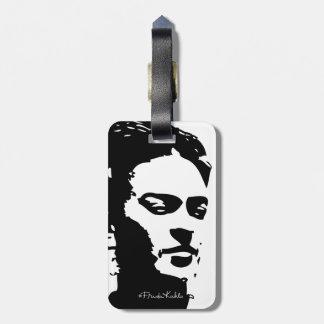 Frida Shadow Portrait Luggage Tag