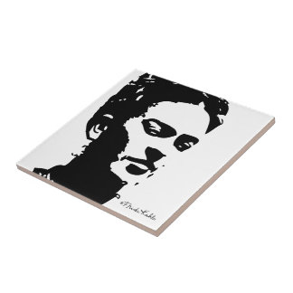 Frida Shadow Portrait Tile