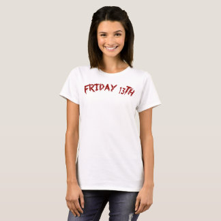 Friday 13th - Unluckiest Day T-Shirt