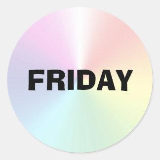 Friday Ad Lib Shimmer Sticker by Janz