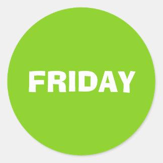 Friday Ad Lib Yellow Green Sticker by Janz