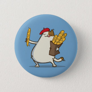 Friday Cat №3 6 Cm Round Badge