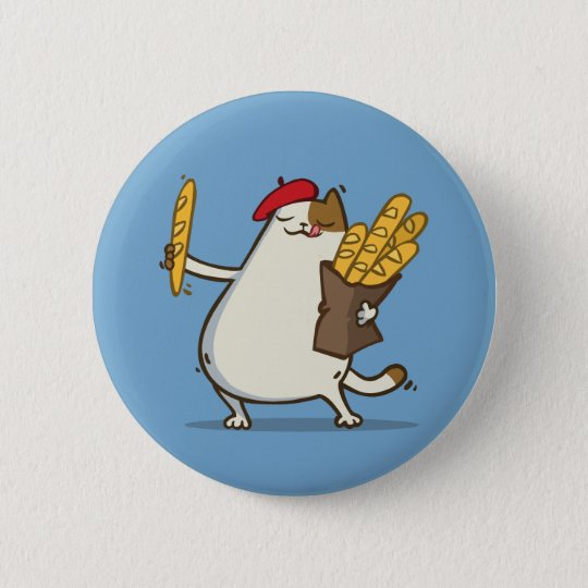 Friday Cat №3 6 Cm Round Badge