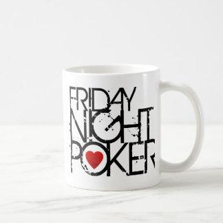 Friday Night Poker Basic White Mug