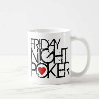 Friday Night Poker Coffee Mug