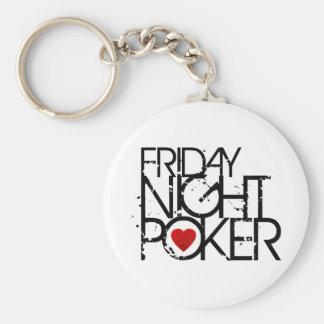 Friday Night Poker Keychains