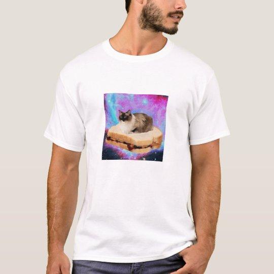 Friday Sandwich Space Cat T-Shirt