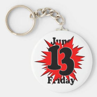 Friday the 13th - Explode Keychain