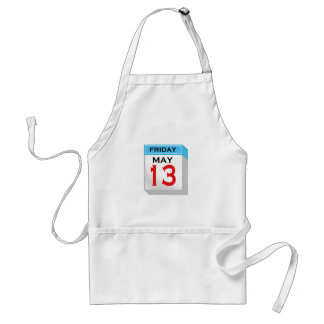 Friday The 13th in May Standard Apron