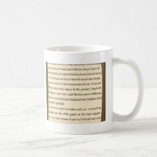 Friday the 13th mugs