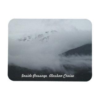 Fridge magnet, Alaskan Cruise Inside Passage