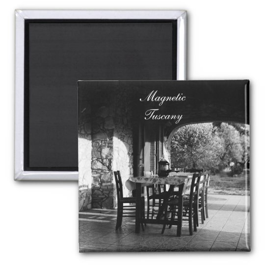 Fridge Magnet: Magnetic Tuscany Magnet