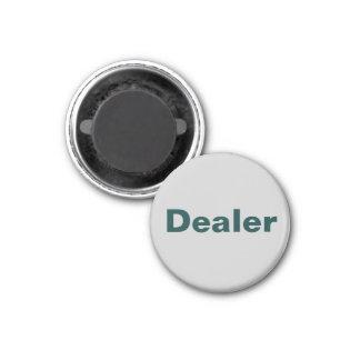 Fridge Poker TAG Action Magnet - Dealer