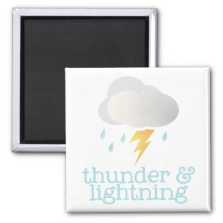 Fridge Weather - THUNDER Magnet