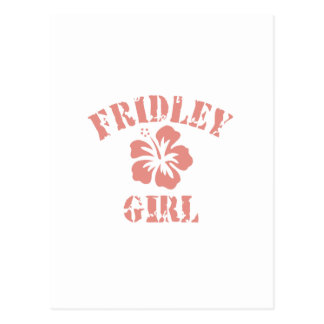 Fridley Pink Girl Post Cards