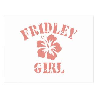 Fridley Pink Girl Postcards