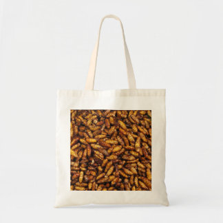 Fried Bamboo Worms ... Thai Street Food Tote Bag