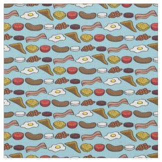 Fried Breakfast Fabric