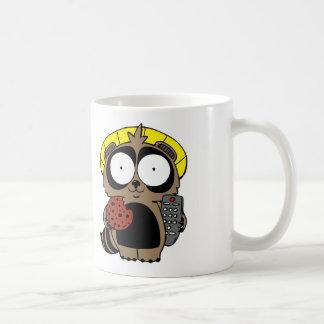 Fried Chicken and Sushi Tanuki coffee mug