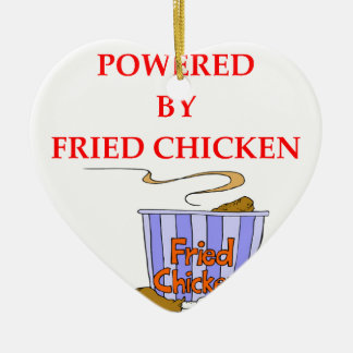 FRIED CHICKEN CHRISTMAS ORNAMENT