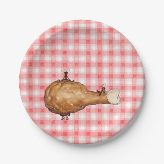 Fried Chicken Paper Plate
