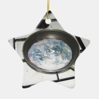 Fried Earth Christmas Ornament