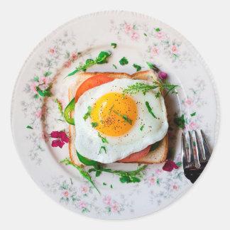 Fried Egg Breakfast Foodie Stickers