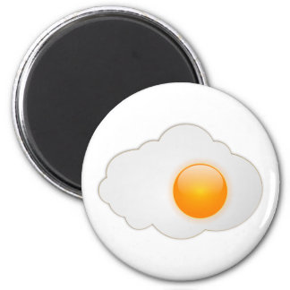 fried egg magnet