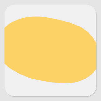Fried Egg Square Sticker