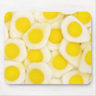 fried egg sweets mouse mat