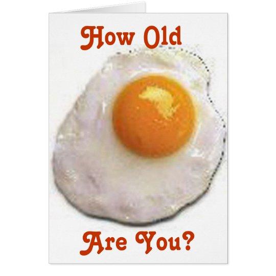 Fried Eggs Card